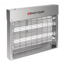 Eazyzap Brushed Stainless Steel LED Fly Killer 8W - FP983