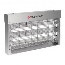 Eazyzap Brushed Stainless Steel LED Fly Killer 14W - FP984