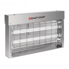 Eazyzap Brushed Stainless Steel LED Fly Killer 20W - FP985