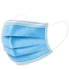 3 Ply Face Mask - General Use NON-MEDICAL (Blue) 40 Boxes of 50