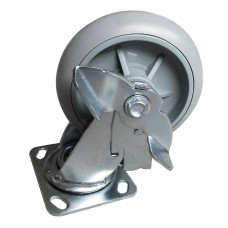 Jantex Spare Braked Castors for Housekeeping Trolley, Ref: AD230