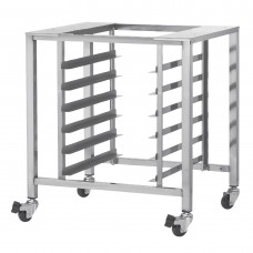 TurboFan Stainless Steel Stand with Castors two with Swivel Lock for DL444 SK2731U, Ref: AF914