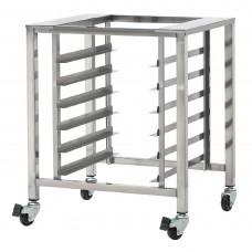 TurboFan Stainless Steel Stand with Castors 2 with Swivel Lock for DL442 SK32, Ref: AF917
