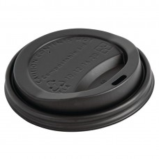 Fiesta Green Compostable Coffee Cup Lids 340ml / 12oz (Pack of 1000), Ref: DS053