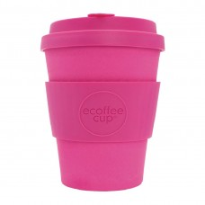 Ecoffee Cup Bamboo Reusable Coffee Cup Pink'd 12oz, Ref: DY486