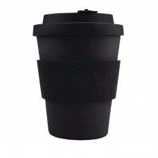 Ecoffee Cup Bamboo Reusable Coffee Cup Kerr & Napier Black 12oz, Ref: DY487