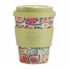 Ecoffee Cup Bamboo Reusable Coffee Cup Papa Franco 12oz, Ref: DY489