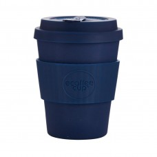 Ecoffee Cup Bamboo Reusable Coffee Cup Dark Energy Navy 12oz, Ref: DY491