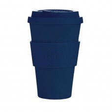 Ecoffee Cup Bamboo Reusable Coffee Cup Dark Energy Navy 14oz, Ref: DY492