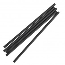 Fiesta Green Individually Wrapped Compostable Paper Straws Black (Pack of 250) FP440