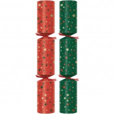 """Bright Stars Plastic-Free Christmas Crackers 9"""" (Pack of 100) FP690"""