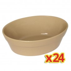 Special Offer - 4x Box of 6 Olympia Oval Pie Bowls (Pack of 24), Ref: S229