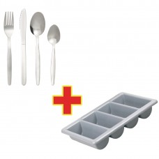 Special Offer - 240 Kelso Cutlery with Tray Combo Deal (Pack of 240), Ref: S274